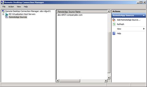 Remoteapp Manager