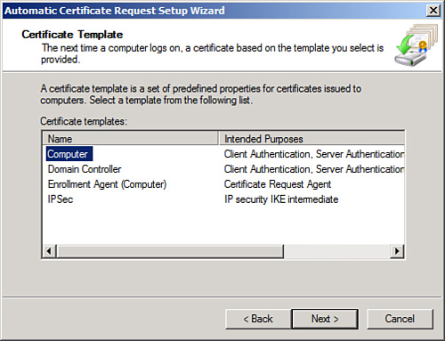 Windows server 2008 r2 directaccess scenario part 3 certificate autoenrollment yadclub