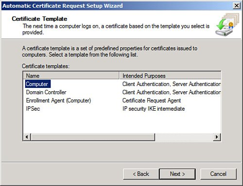 Windows server 2008 r2 directaccess scenario part 3 certificate autoenrollment yadclub Gallery