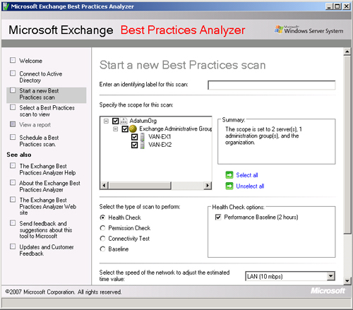 Exchange Server 2010 : Generating Reports (part 5)