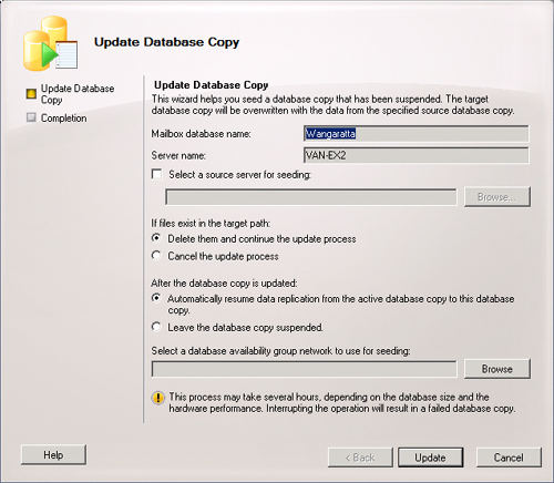 exchange server 2010 managing database availability groups part