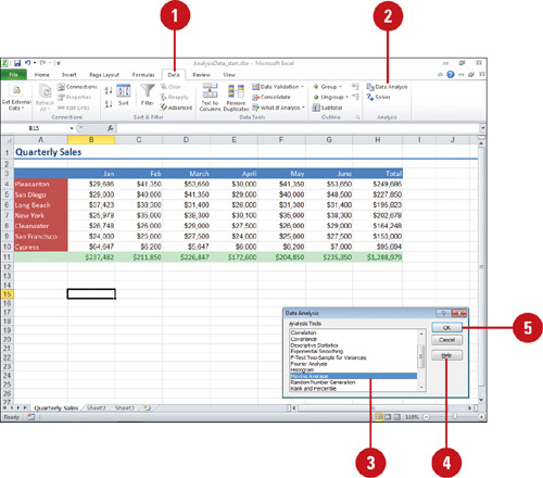 Microsoft Excel   Building More Powerful Worksheets  Using