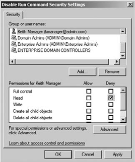 Windows Server 2008 R2 : Administer Group Policy (part 1