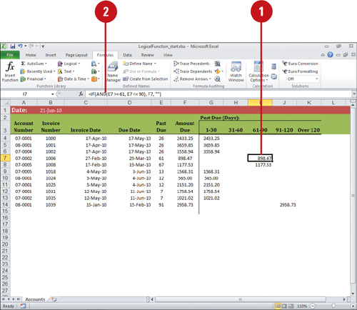 how to use financial functions in excel