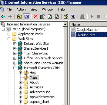 Microsoft dynamic crm 40 microsoft live search maps windows new iis virtual directory for msn maps publicscrutiny Images