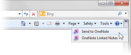 Using Microsoft OneNote 2010 with Other Programs : OneNote