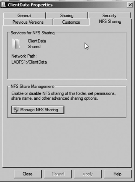 Windows Server 2008 R2 file and print services : Services