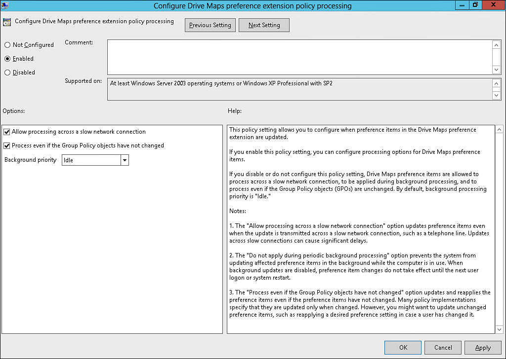 Windows Server 2012 Group Policies and Policy Management