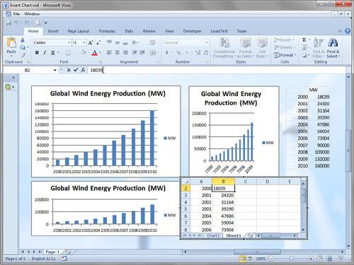 Microsoft Visio 2010 : Importing Graphics (part 4) - Adding