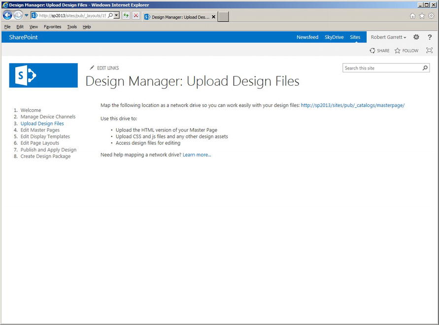 Sharepoint 2013 : Branding with the Design Manager (part 2 ...